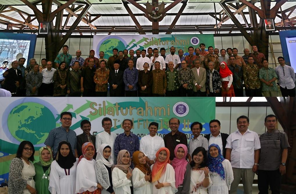 Silaturahmi Idul Fitri 1437 H – Fakultas Ilmu dan Teknologi Kebumian