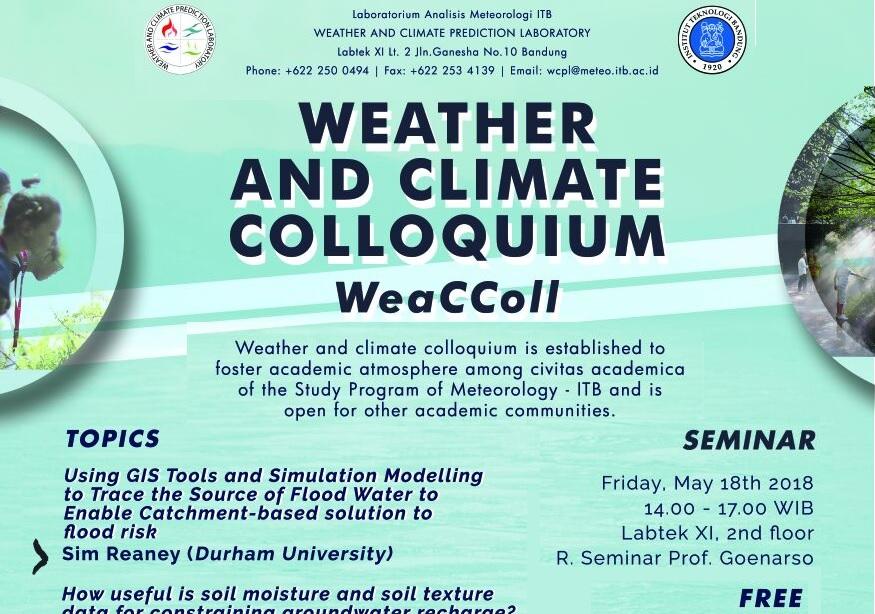 Undangan WeaCColl 2018