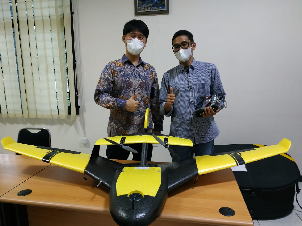 Pertemuan dan Koordinasi MTCRC dan FITB di Kampus ITB Watubelah, Cirebon