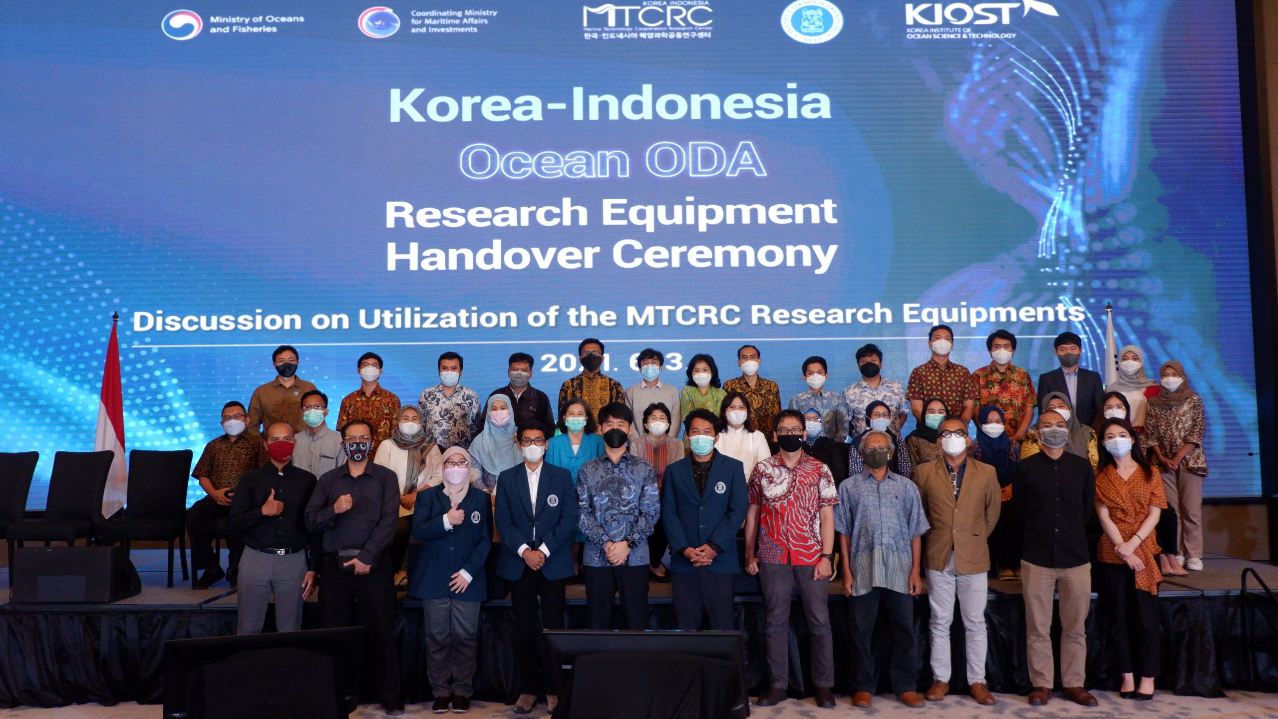 Research Equipment Hand Over Ceremony