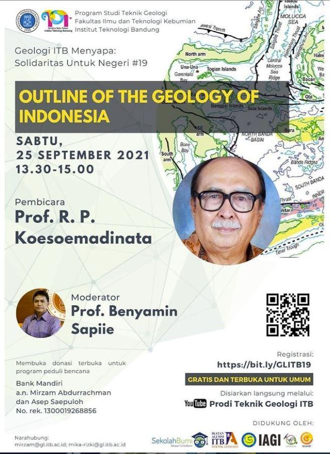 Geologi ITB Menyapa: mengundanga Prof. R. P. Koesoemadinata (Profesor Emeritus Geologi ITB)