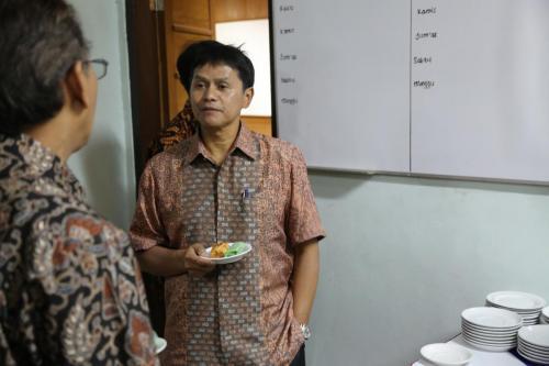 Pisah Sambut Dekan, Prof. Hasan & Pak Mino